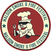 Maldon Smoke and Fire Festival logo