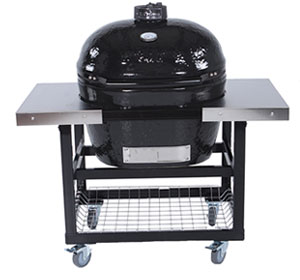 Primo Grill Cart with Stainless Steel Top