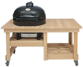 Primo Grill Countertop Cypress Grill Table