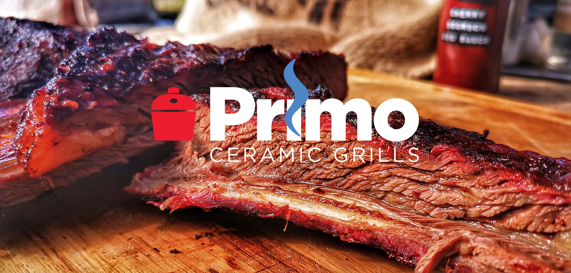Short Beef Ribs cooked on the Primo Ceramic grill in the UK by BBQ Master Marcus Bawdon