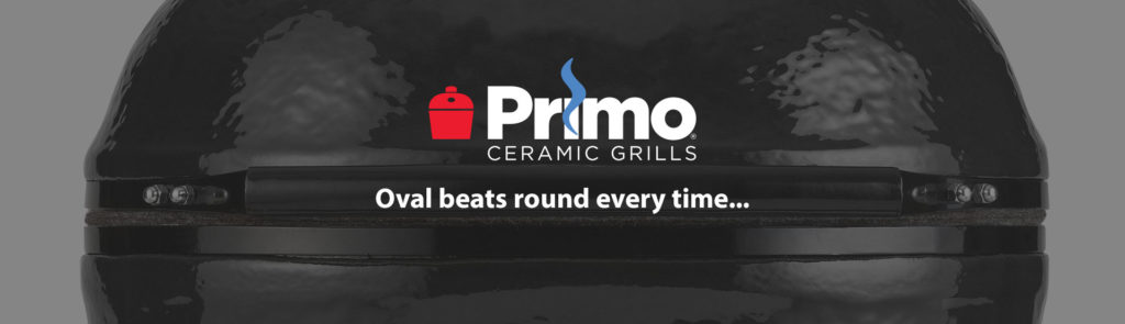 The Primo Patented Oval Design Outperforms Round Grills