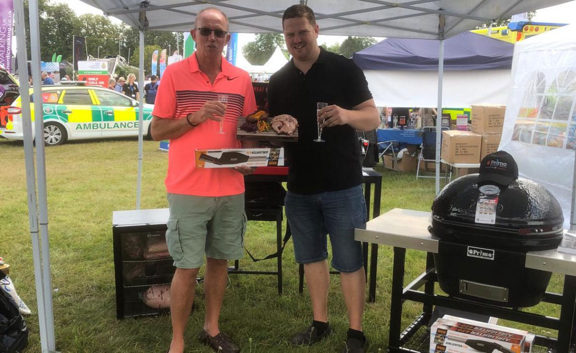 primo grill uk competition winner