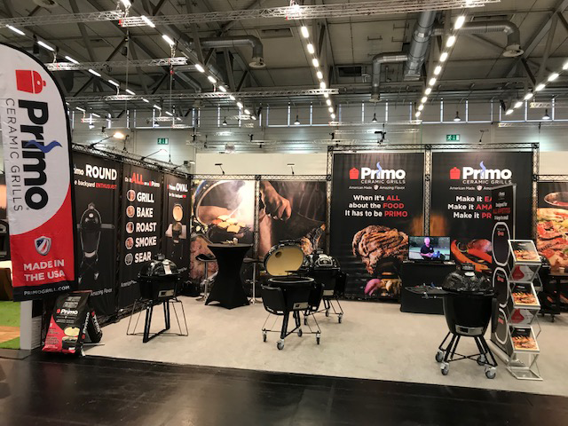 Primo-Grills UK at Spoga 2019