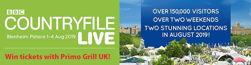Primo Grill UK - promo graphic
